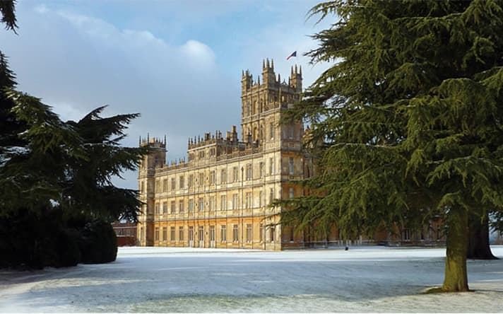 Inspiration Highclere Castle Blog