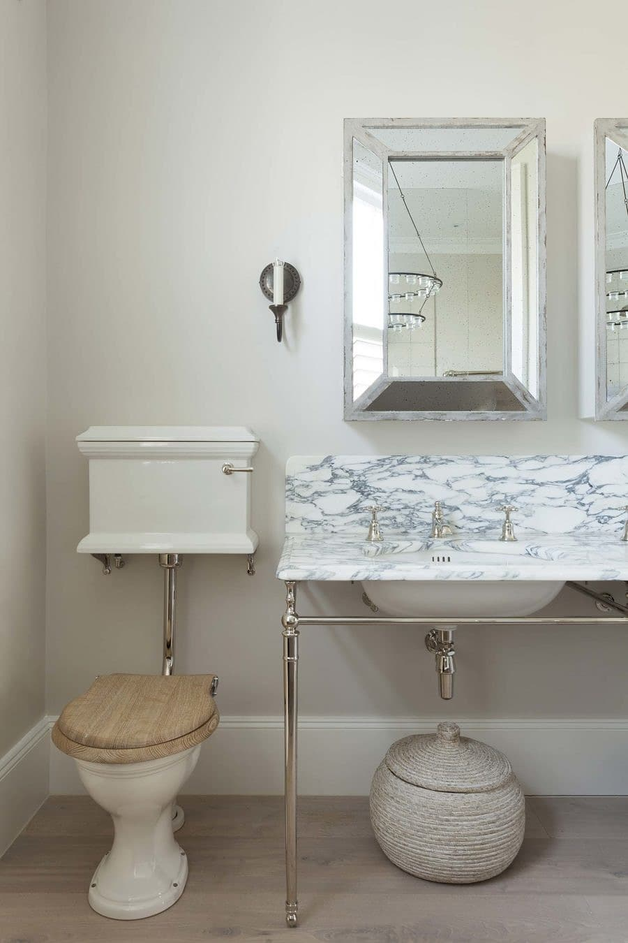 The Eden Low Level WC Suite - Victorian Townhouse West London