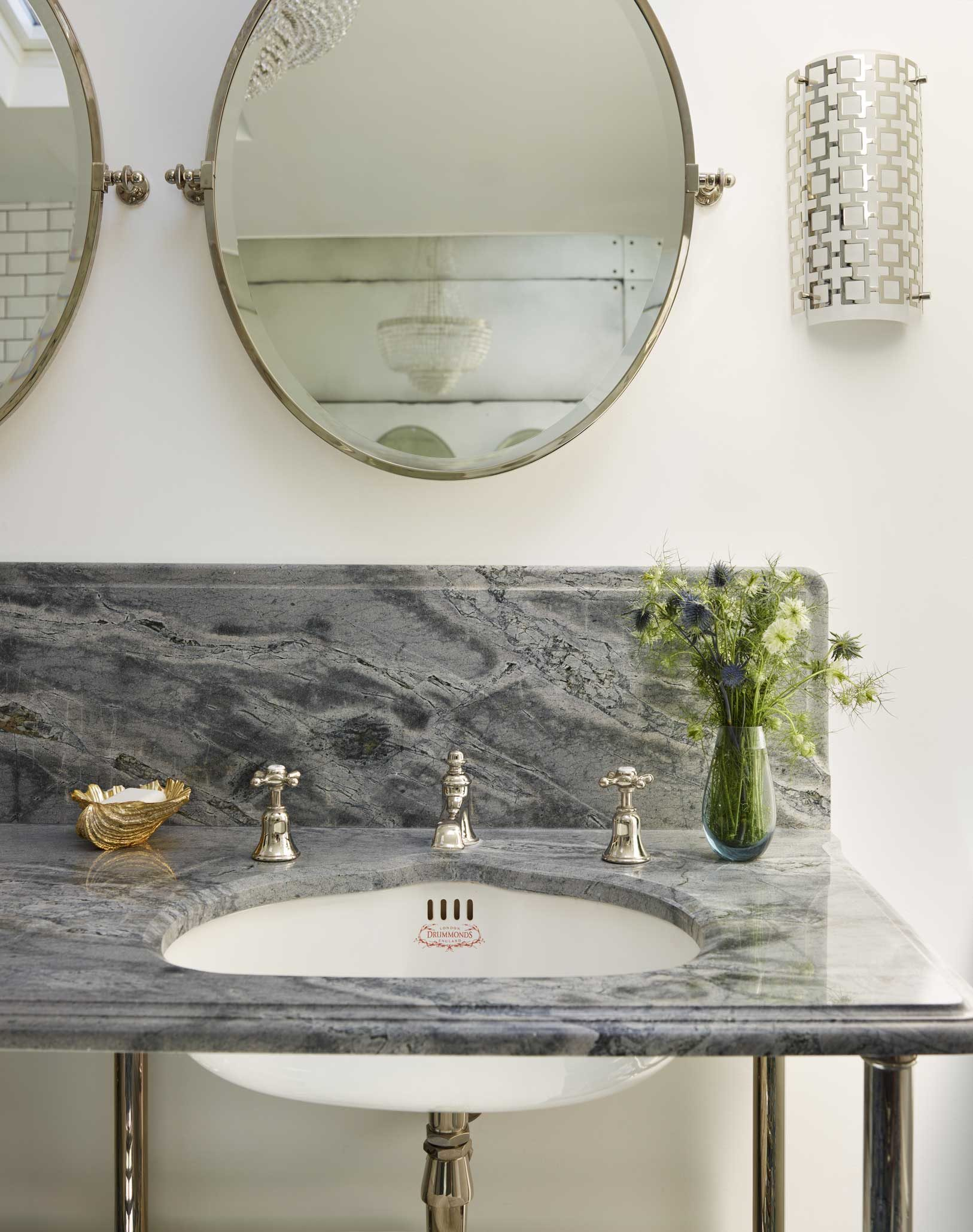 Luxury Wall Mounted Oval Bathroom Mirror Drummonds Bathrooms