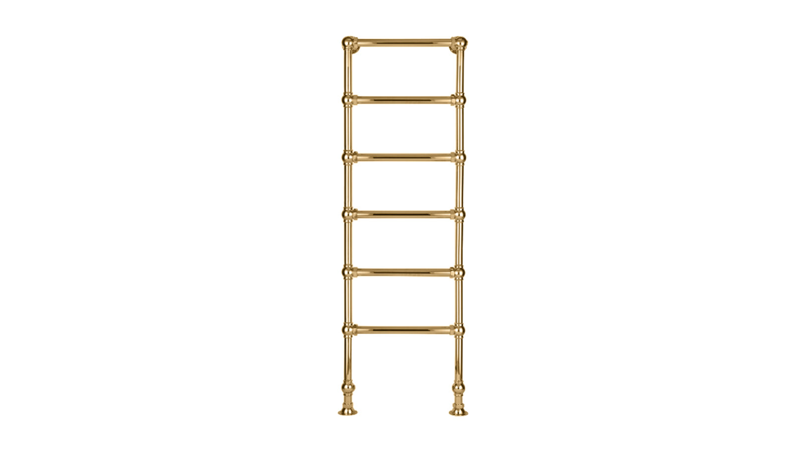 6-Bar Floor Mounted Towel Rail