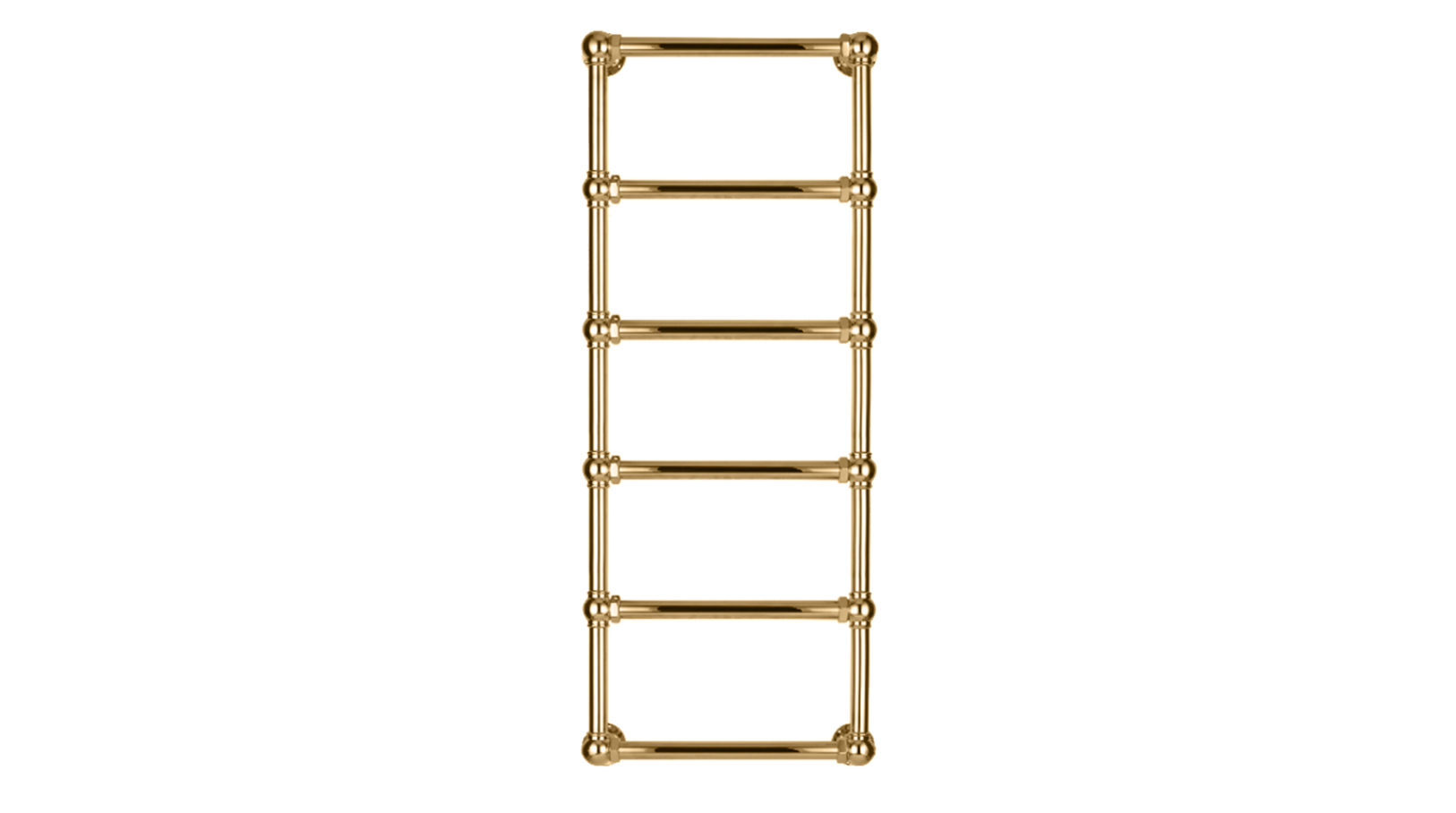 6-Bar Wall Mounted Towel Rail