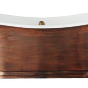 The Copper Wye Bateau Cast Iron Bath Tub