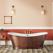 The Copper Wye Bateau Cast Iron Bath Tub