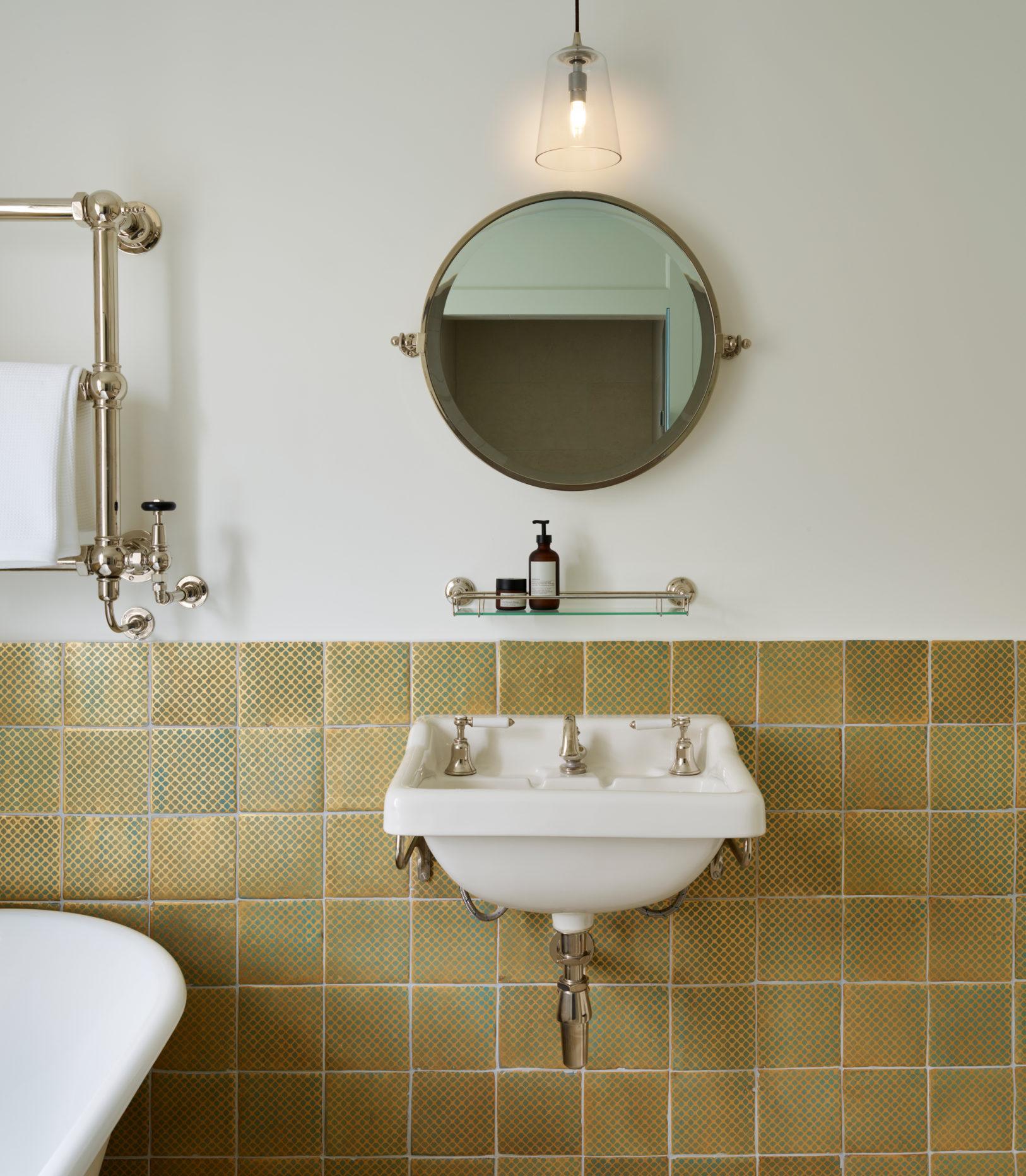 Wall Mounted Circular Bathroom Mirror
