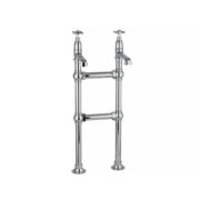 The Mull Classic Bath Taps & H Stand