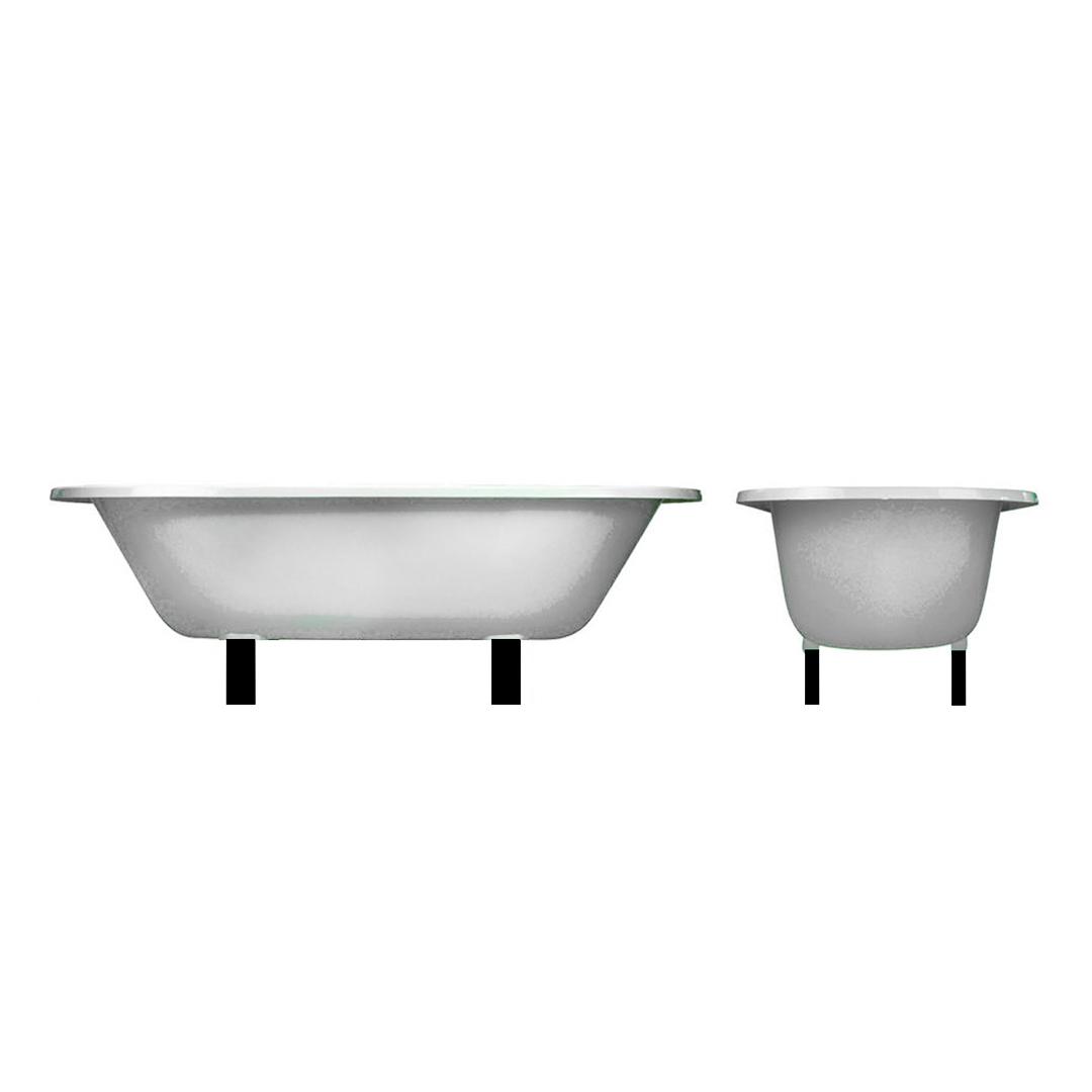 The Baby Lomond Overmounted Cast Iron Bath Tub