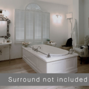 The Ness Large Undermounted Cast Iron Bath Tub