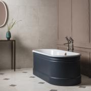 The Bute Cast Iron Bath Tub With Plug & Chain