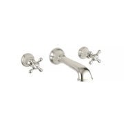 The Mull Wall Mounted 3-Hole Bath Mixer