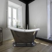 The Morar Small Slipper Cast Iron Bath Tub