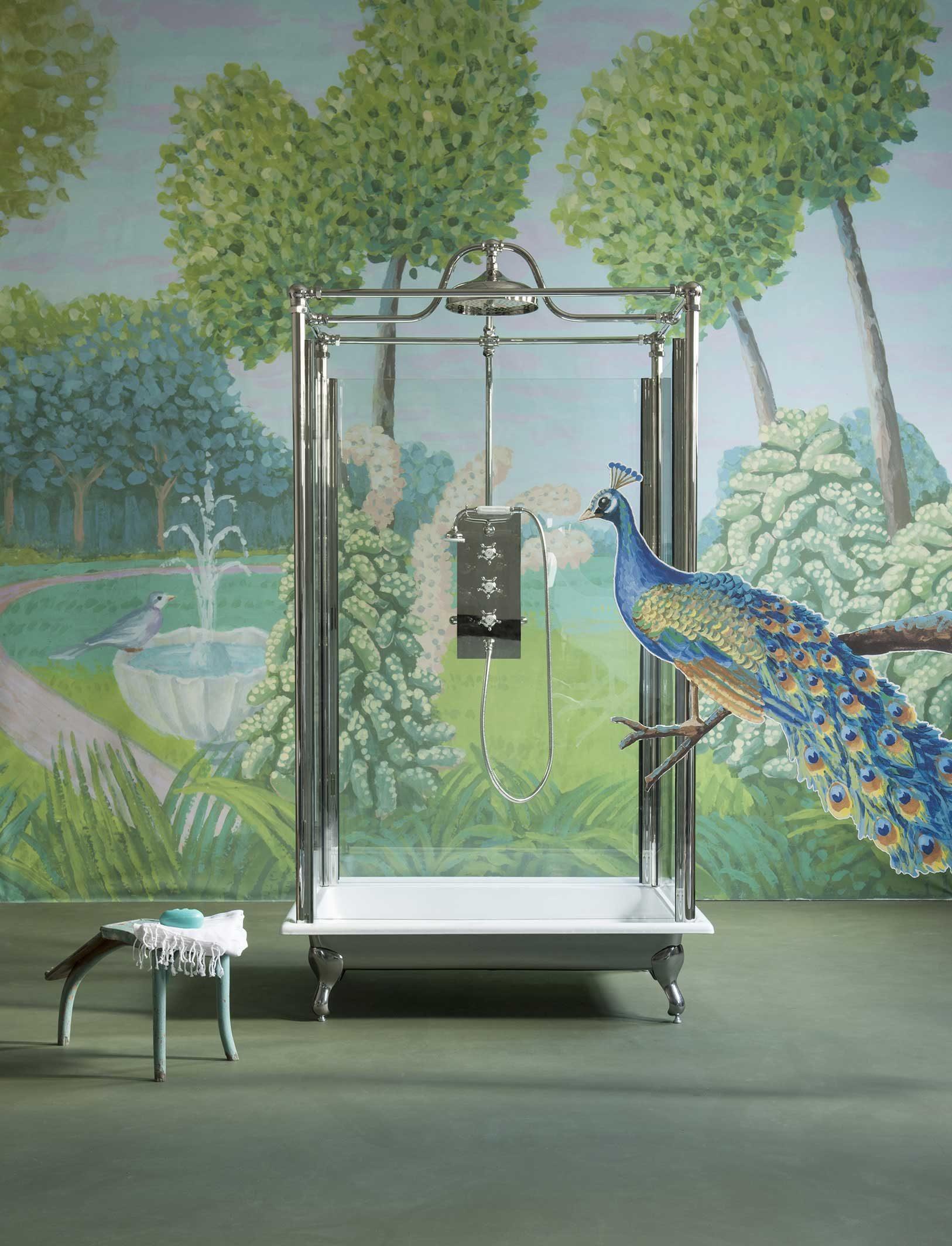 The Severn Freestanding Shower