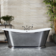 The Wye Large Bateau Cast Iron Bath Tub