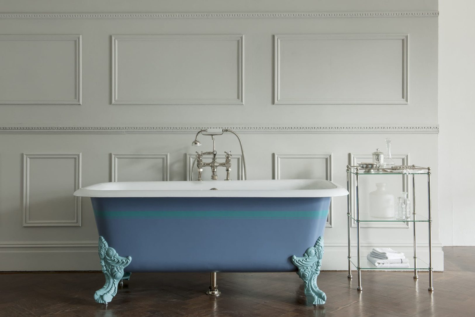 The Liffey Cast Iron Bath Tub