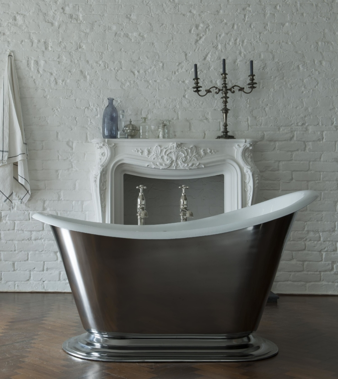 The Morar cast iron slipper bath tub