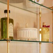 Triple Glass Shelf