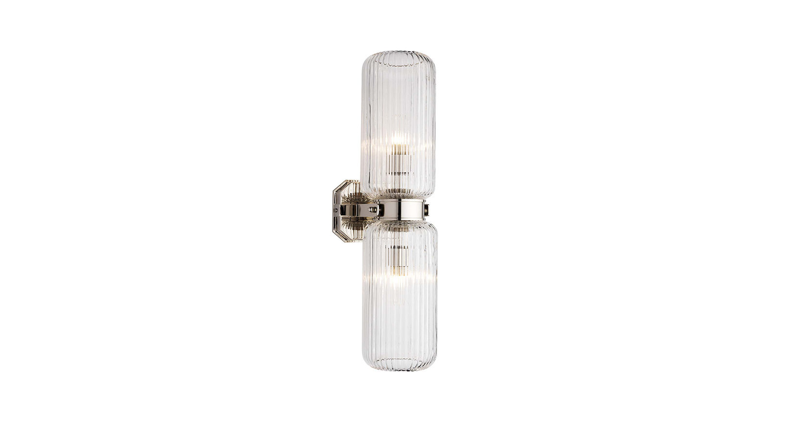 The Double Derwent Light With Fluted Shade