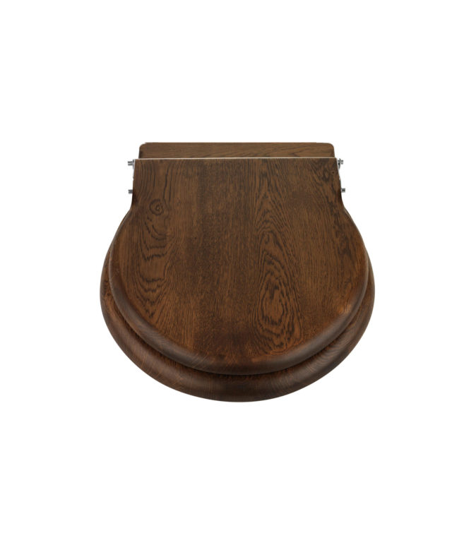 New Standard Loo Seat Dark Oak