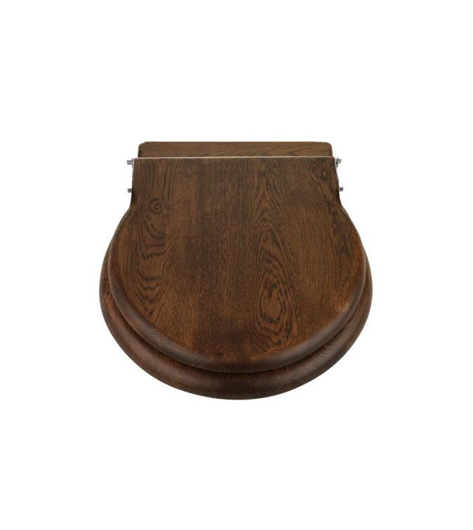New Standard Loo Seat Dark Oak