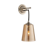 The Single Dalby Light, Antique Conical Shade