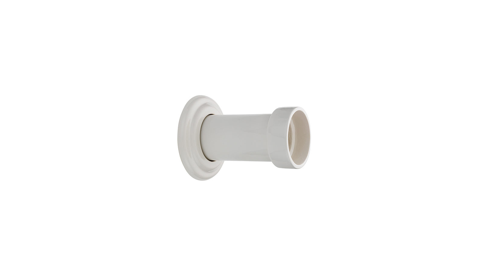 Ceramic Soil Pipe Connector Into Wall