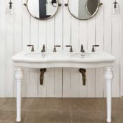 The Double China Windermere Vanity Basin