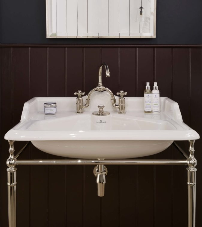 The Naver single china vanity basin