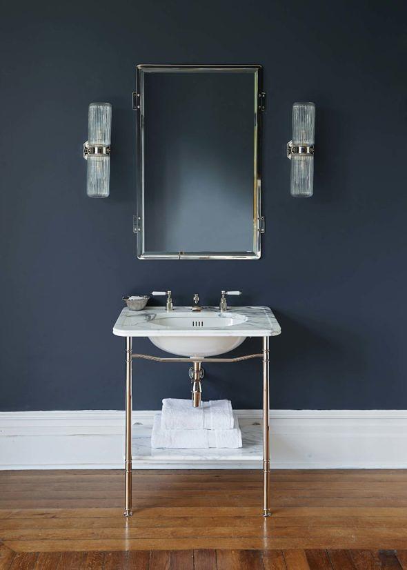 The Single Ladybower china vanity basin