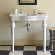 The Single China Windermere Vanity Basin