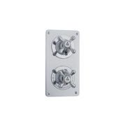 The Mull Classic Shower Plate Thermo & On/Off