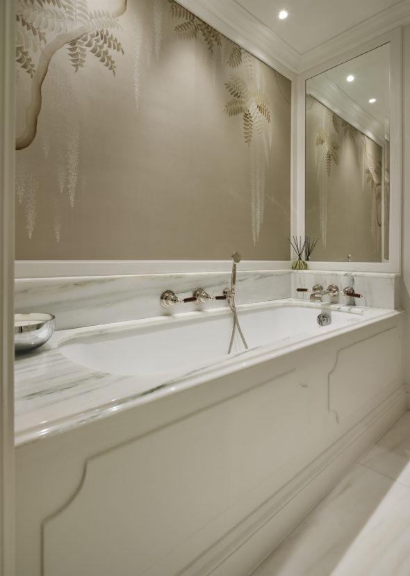 Four Storey Pimlico Townhouse dressing room bathroom