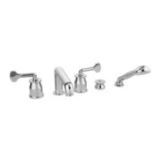 The Leawood 5-Hole Bath & Shower Mixer