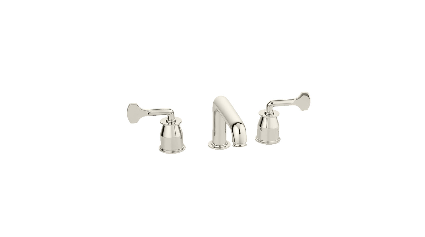 The Leawood Lever 3 Hole Basin Mixer