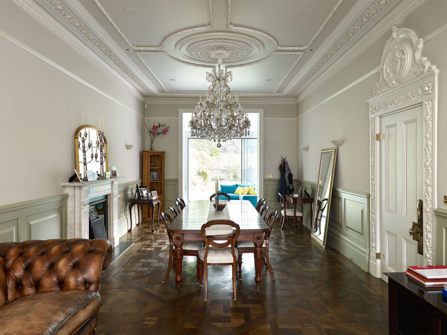 Dining Room from Castelnau case study