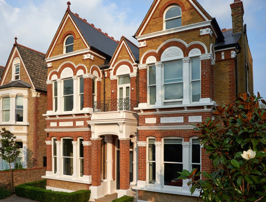 Edwardian front of house case study