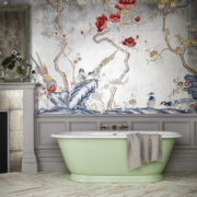 The Tweed Small Cast Iron Skirted Bath Tub