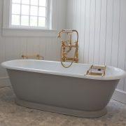 The Tamar Cast Iron Skirted Bath Tub