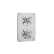 The Bestwood X Head Shower Plate Thermo & On/Off