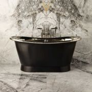 The Baby Tyne Copper Bath Tub With Nickel Interior Paint Ext