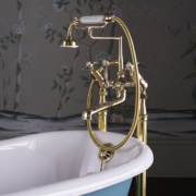 The Mull Bath & Shower Mixer With Floor Standing Legs