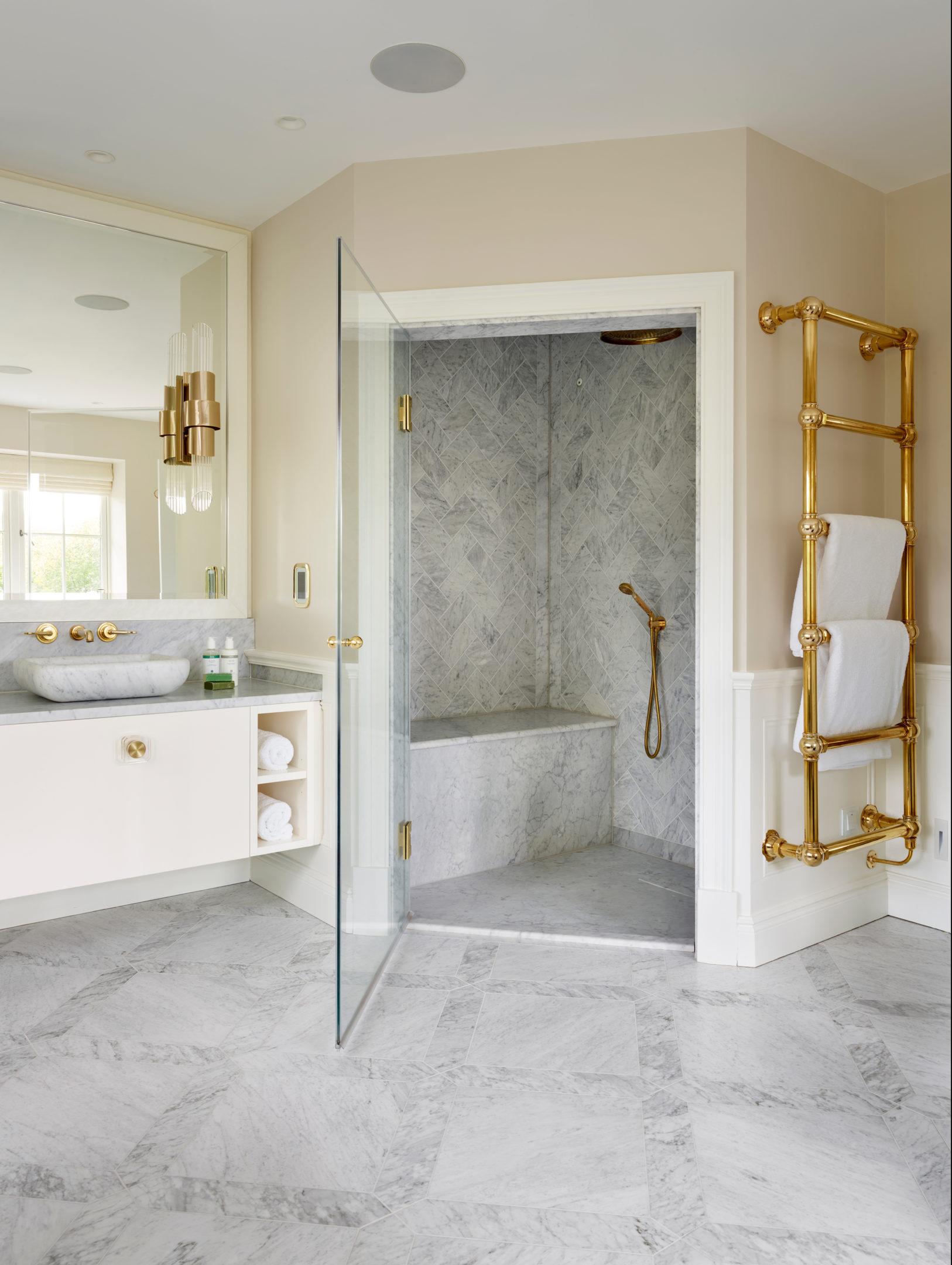 6 Bar Wall Mounted Towel Rail Drummonds Bathrooms