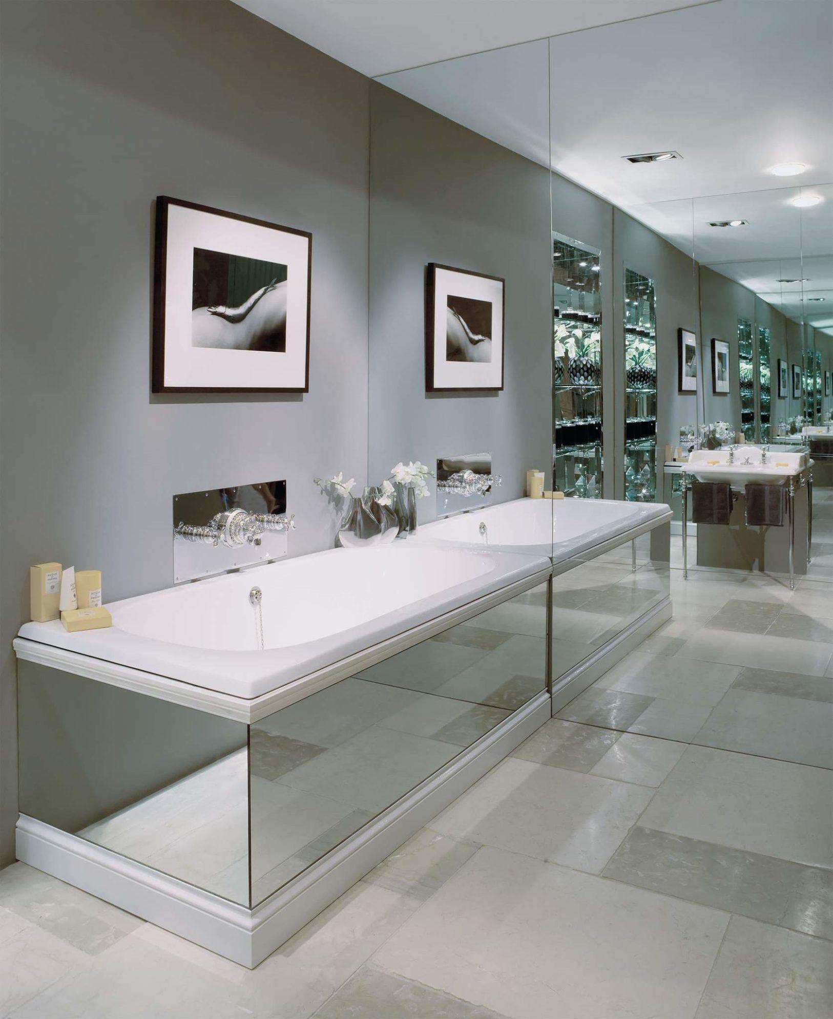The Lomond Overmounted Cast Iron Built-In Bath Tub