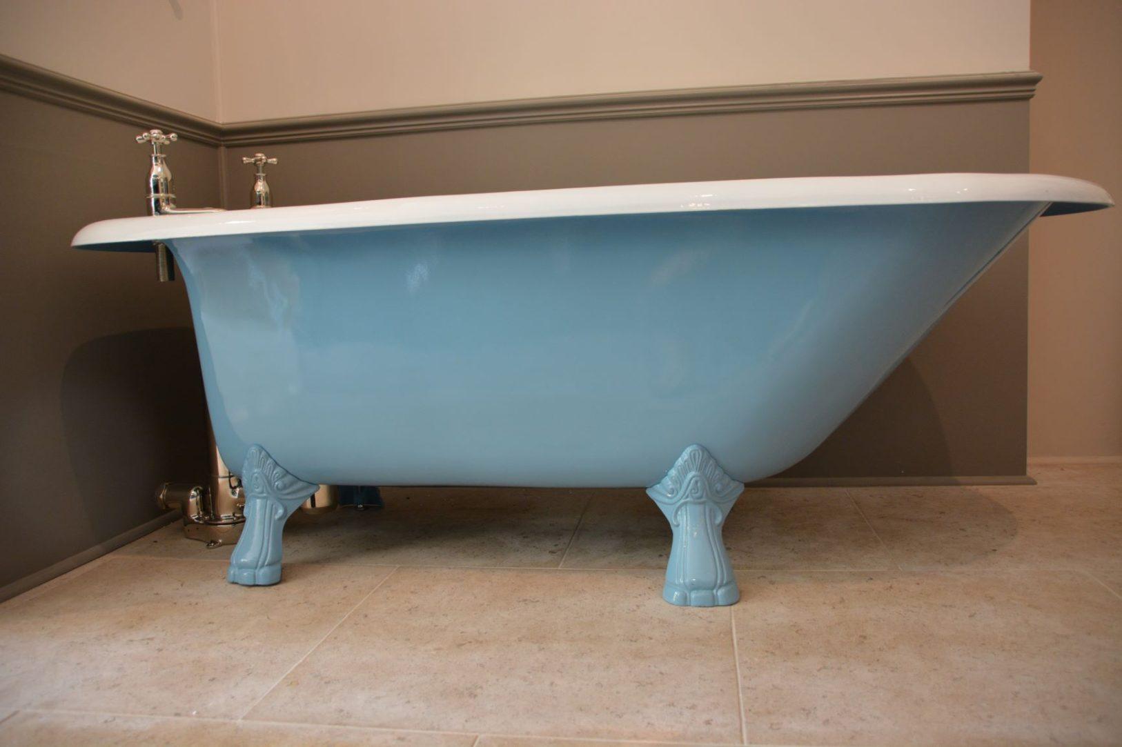 The Clyde Single Ended Cast Iron Bath Tub