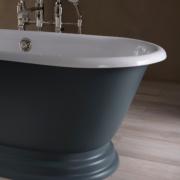 The Meon Cast Iron Skirted Bath Tub
