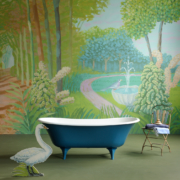 The Serpentine Cast Iron Bath Tub With Deco Feet