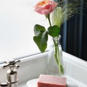 Arabescato Marble Soap Dish